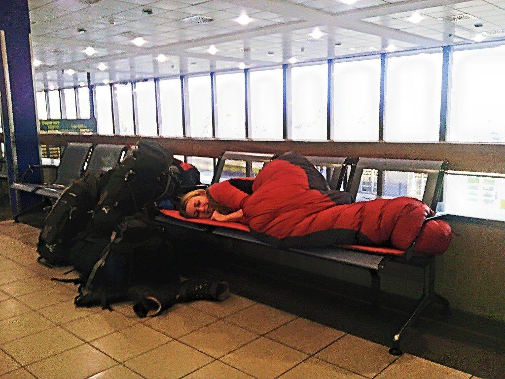 Útulna na letišti