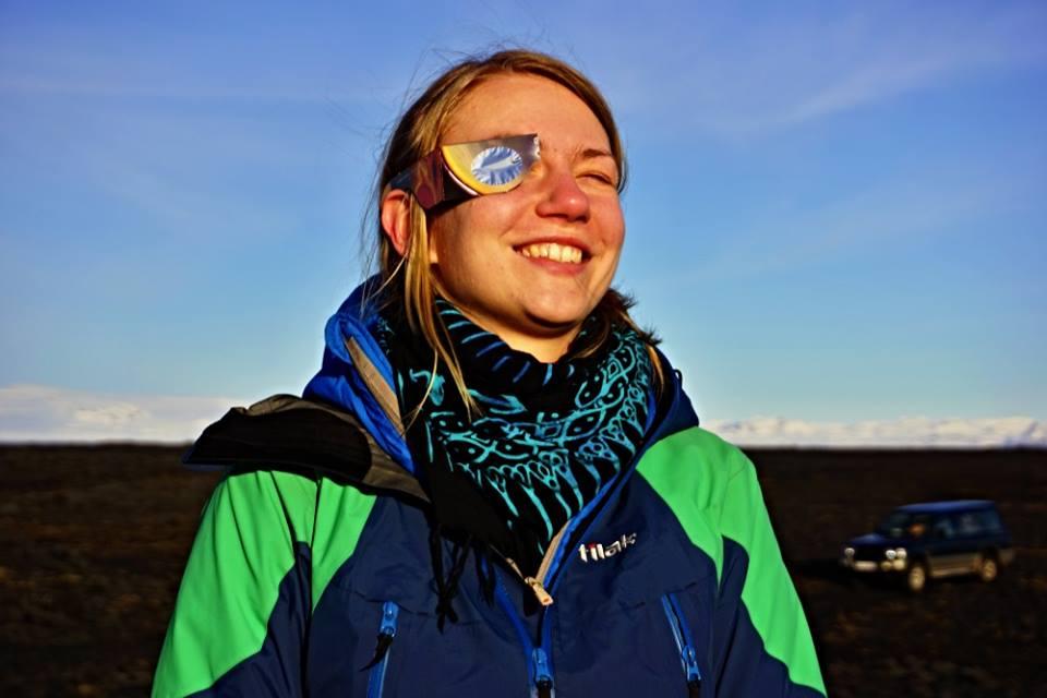 Zatmění slunce na Islandu